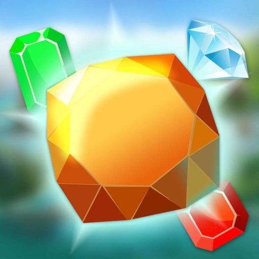 疯狂点宝石-挑战手速和反应能力的小游戏