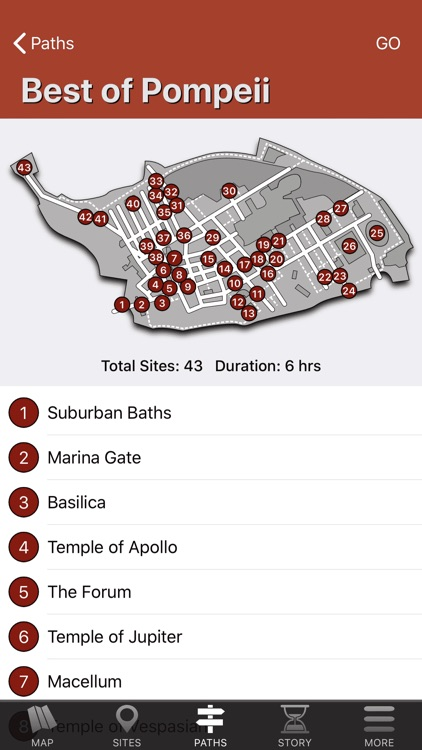 Pompeii Map - Travel Guide screenshot-8