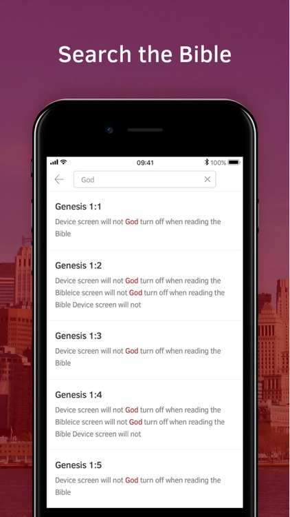Light Bible: Verses, Audio screenshot-7