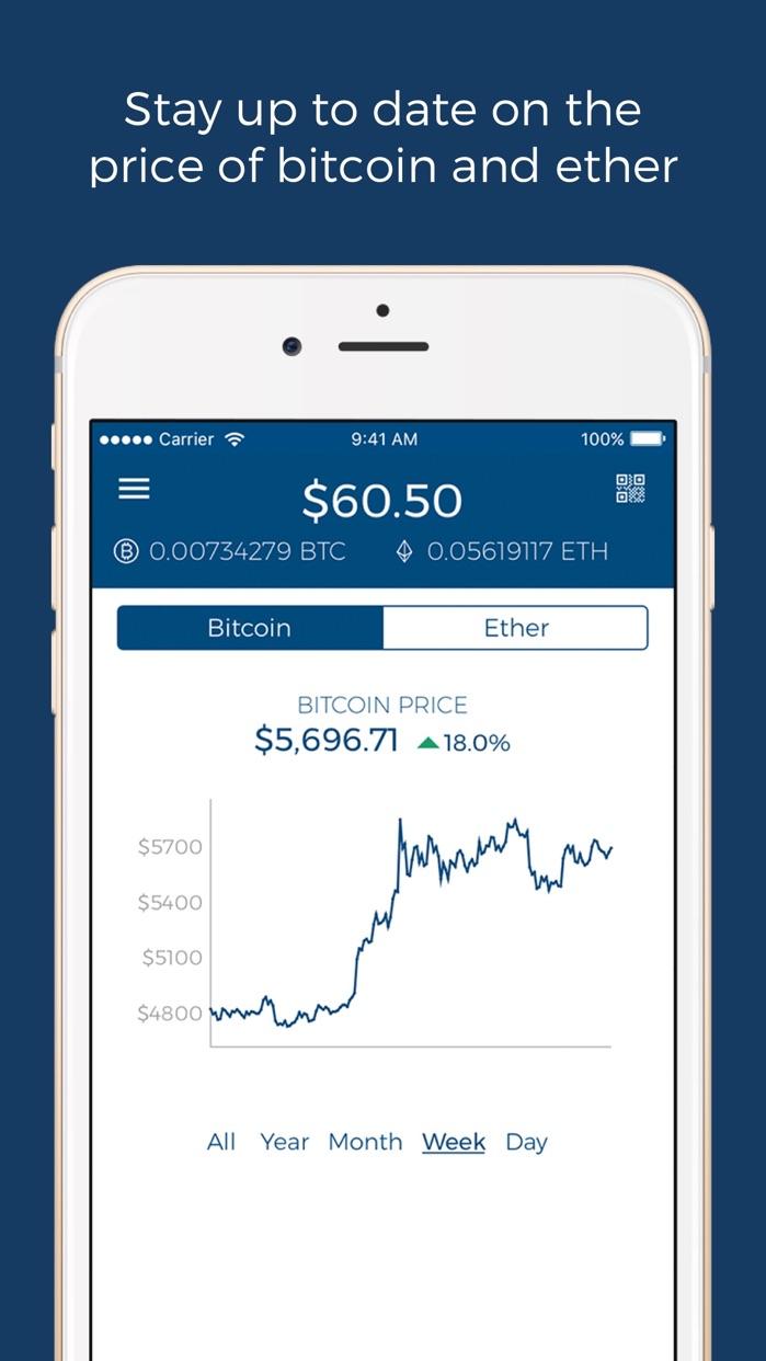 Blockchain - Bitcoin Wallet Screenshot