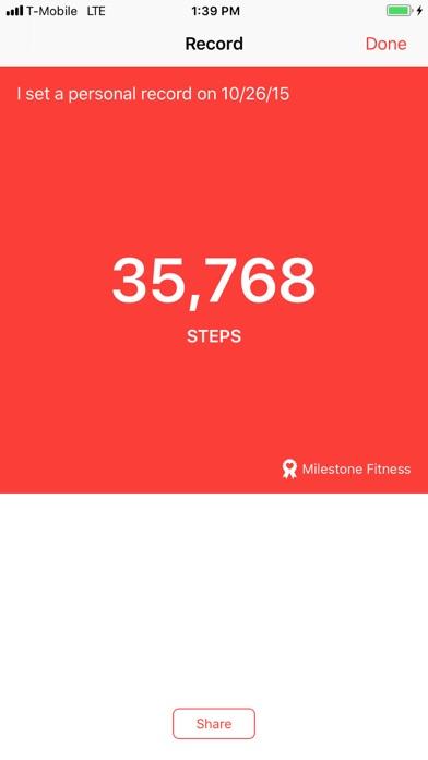 Milestone Fitness screenshot four