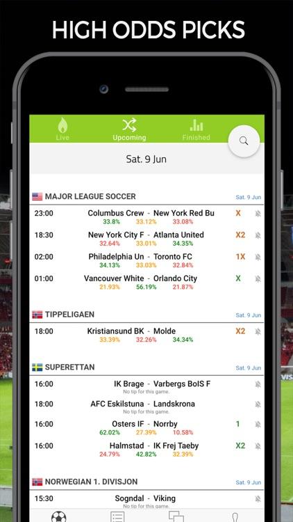 Soccer Predictions Football AI screenshot-6