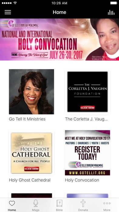 Corletta J Vaughn screenshot 1