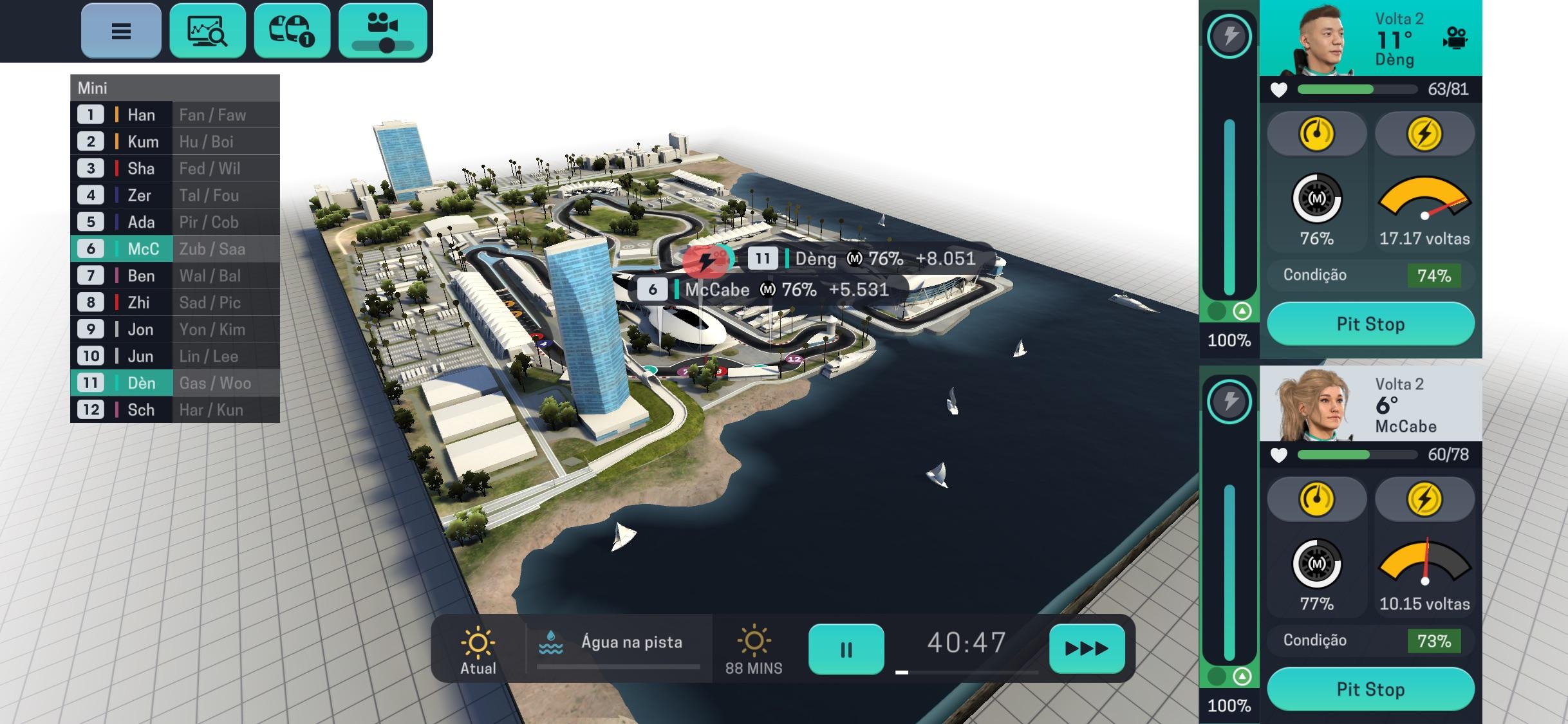 Screenshot do app Motorsport Manager Mobile 3