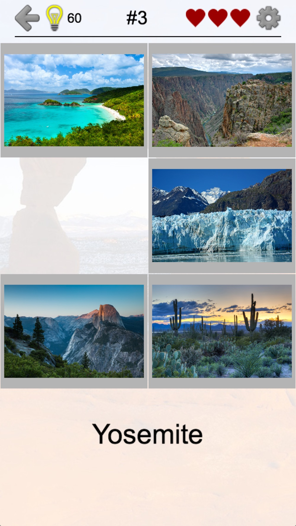 National Parks of the US: Quiz hack tool
