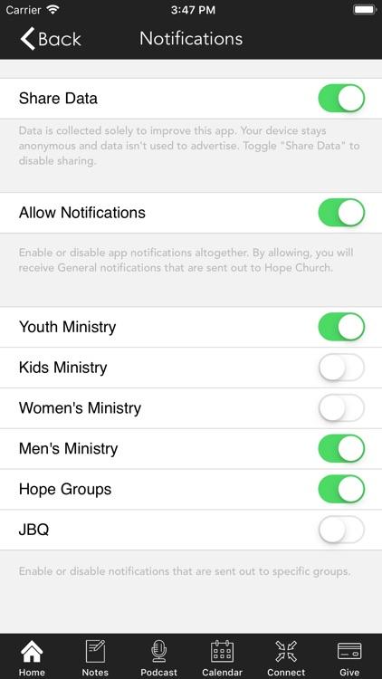 Hope Church   Cleburne screenshot-6