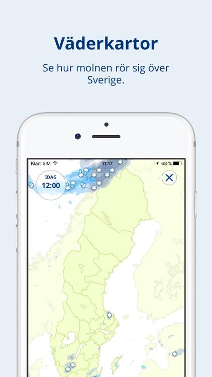 Klart.se - Väderapp screenshot-3