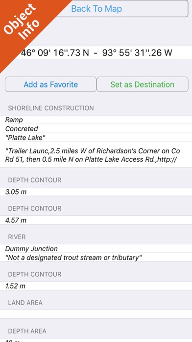 Minnesota Lakes Fishing Charts review screenshots
