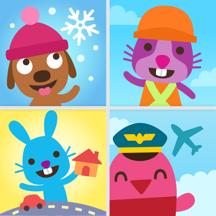 Sago Mini 探险游戏组
