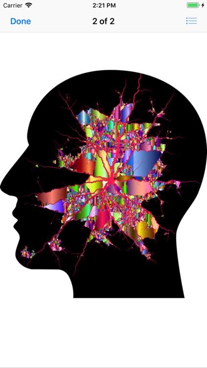 Cranial Abstract Art Stickers screenshot-4