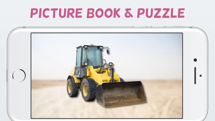Tractor & Digger - Puzzlebook screenshot-0