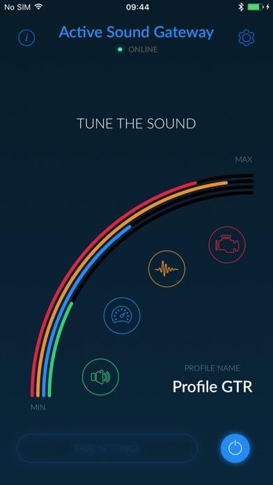 Active Sound Gateway BLEScreenshot von 1