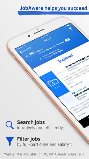 JobAware: Smarter Job Search on the App Store