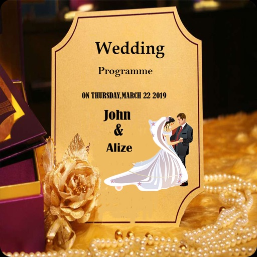 Party Wedding Card Maker By Nauman Ali Shah
