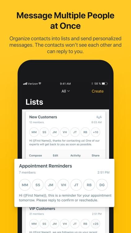 Heymarket Business Messaging screenshot-4