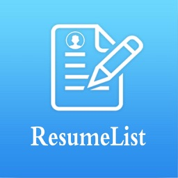 Resume builder with PDF maker and job search
