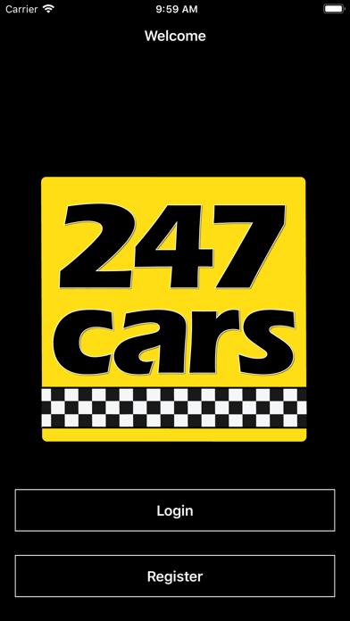 247 Cars - 24hr minicabs screenshot one