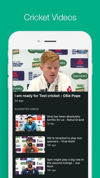 Cricbuzz Cricket Scores News review screenshots