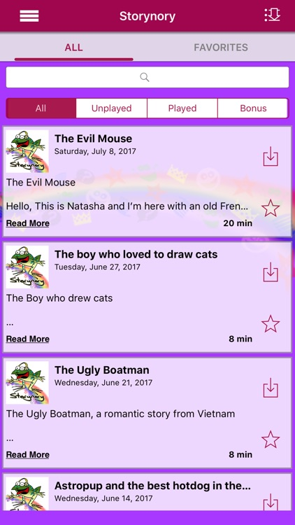 Storynory - Audio Stories for Kids screenshot-1