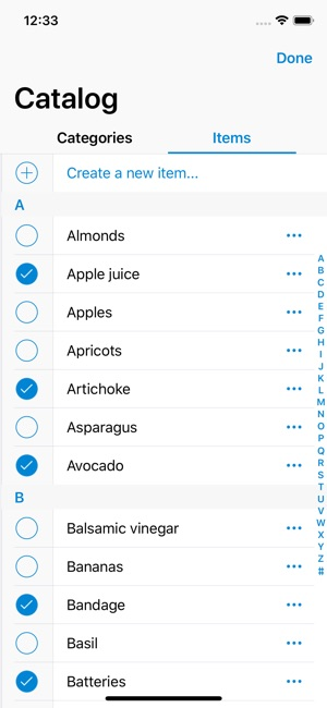 Shoppylist - Shopping List Screenshot