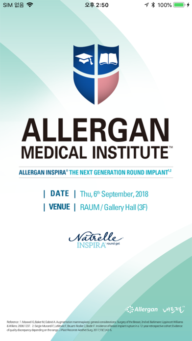 ALLERGAN MEDICAL INSTITUTE™ screenshot one