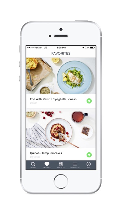 Screenshot for Clean-Eating Plan and Recipes in Lebanon App Store