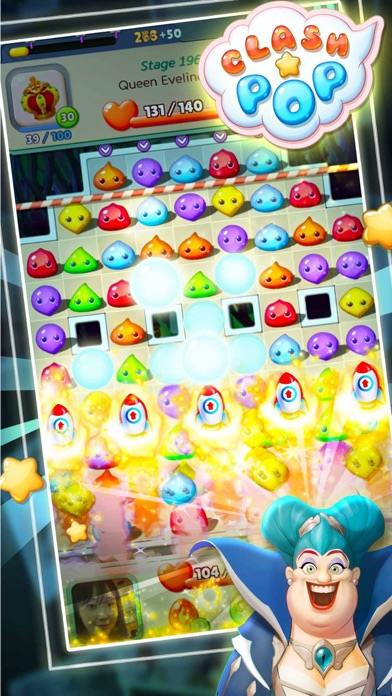 Clash Pop-Creative puzzle game screenshot 2