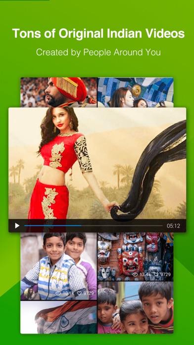 WeShow.me Screenshot on iOS