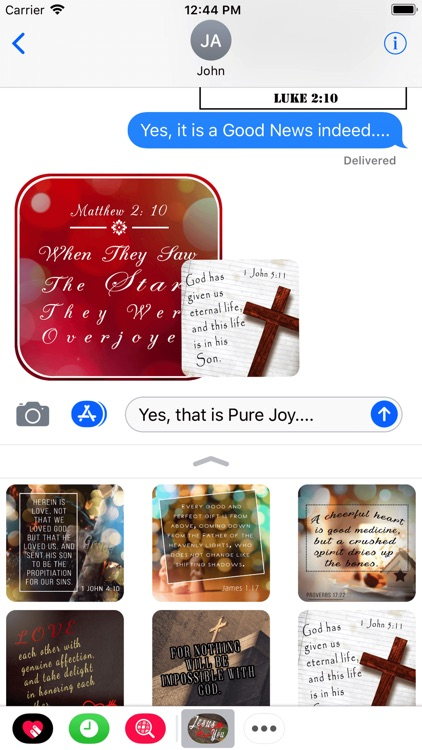 Bible Promises Cards Stickers screenshot-3