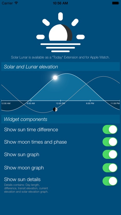 Solar Lunar Widget