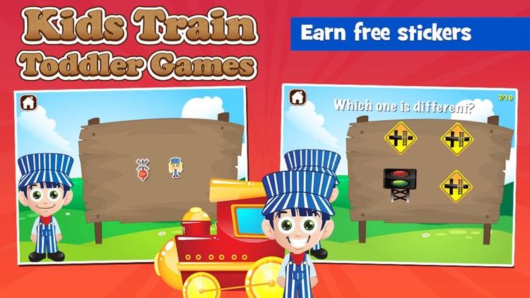 Kids Train Toddler Games screenshot-3