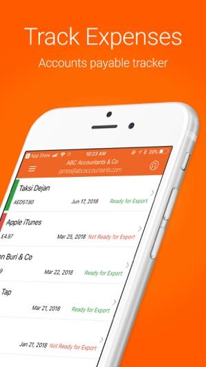 receipt bank scanner tracker on the app store