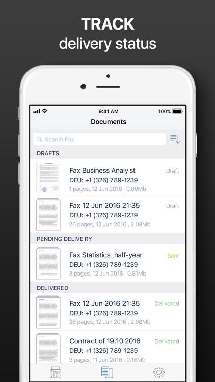 Fax from iPhone - Send Fax App screenshot-4