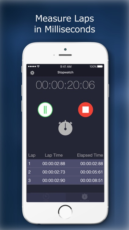 TimeTime - Stopwatch and Timer screenshot-4