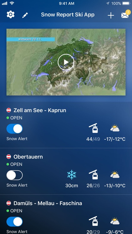 Snow Report Ski App Pro screenshot-0
