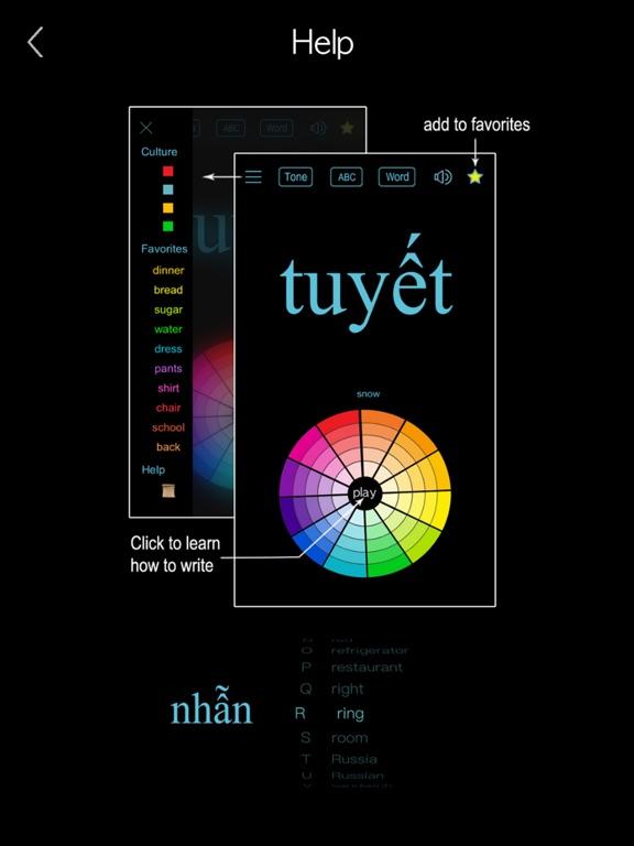 Vietnamese Alphabet & Words screenshot 19