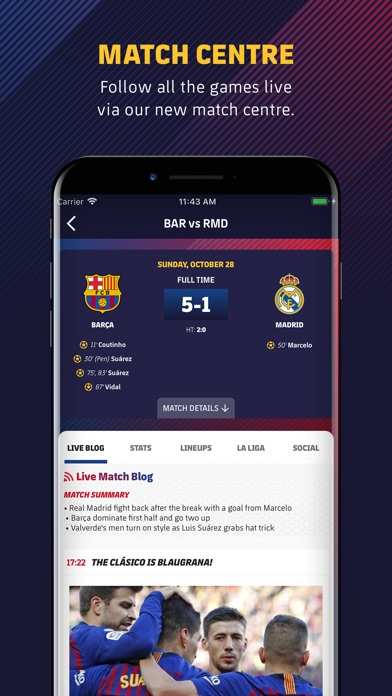 Fc Barcelona Official App review screenshots