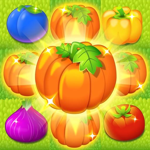Кроп Кропс: Овощи в Ряд