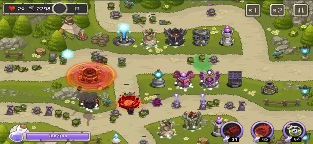 Tower Defense King Cheat Codes