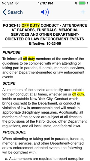 nypd patrol guide 2013 on the app store rh itunes apple com nypd administrative guide 319-14 nypd administrative guide pdf