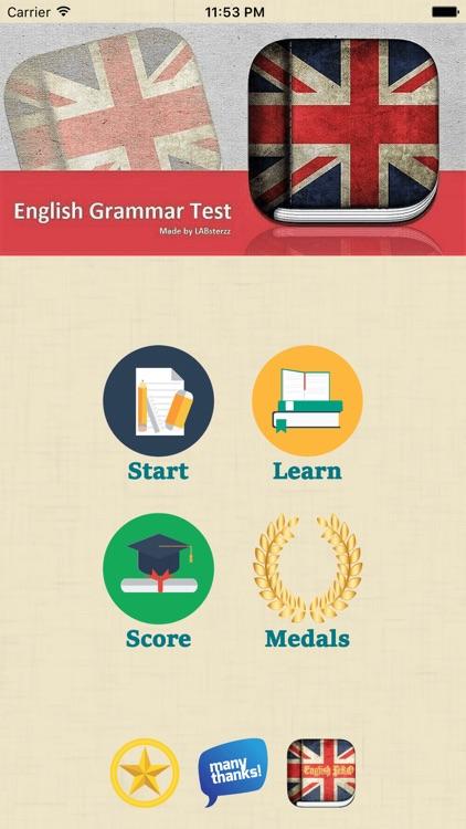 English Grammar Learn & Test screenshot-4