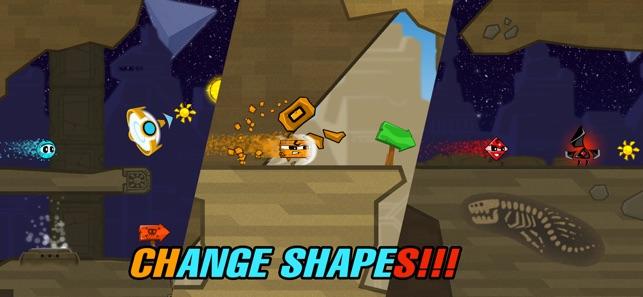 Crazy Shapes: Hero's Return Screenshot