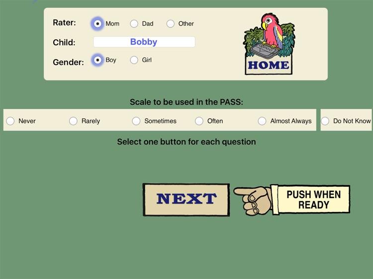 Pepi Assessment- Social Skills