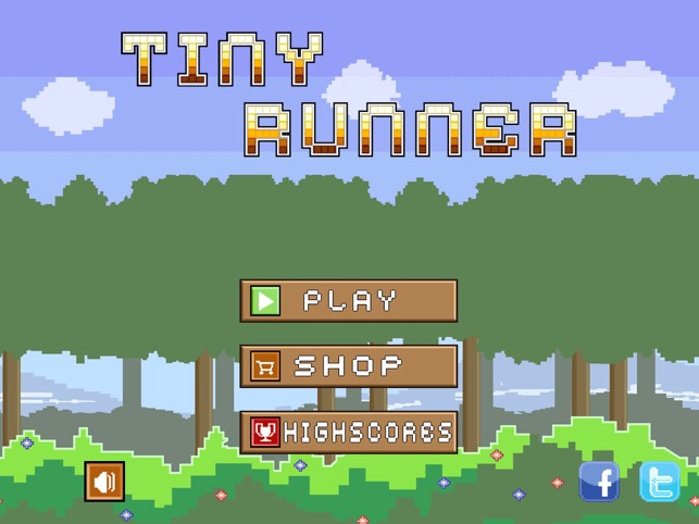 Tiny Runner Screenshot