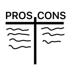 T-Charts (Pros and Cons) on the App Store