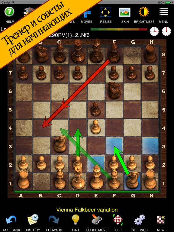 Шахматы с Tренером на iPad