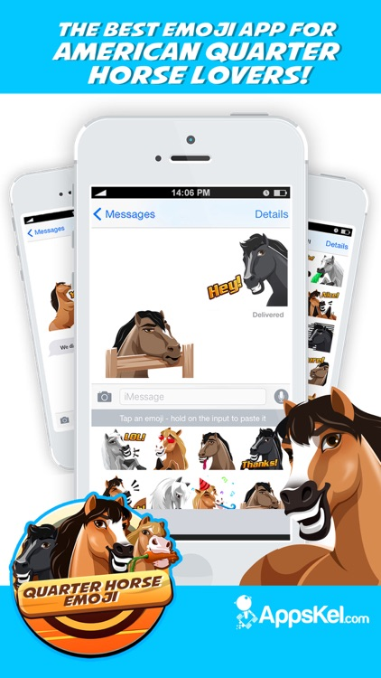 American Quarter-Horse Emoji screenshot-0