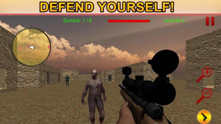 Desert Sniper Range-Zombies Clash at dead zone screenshot-4