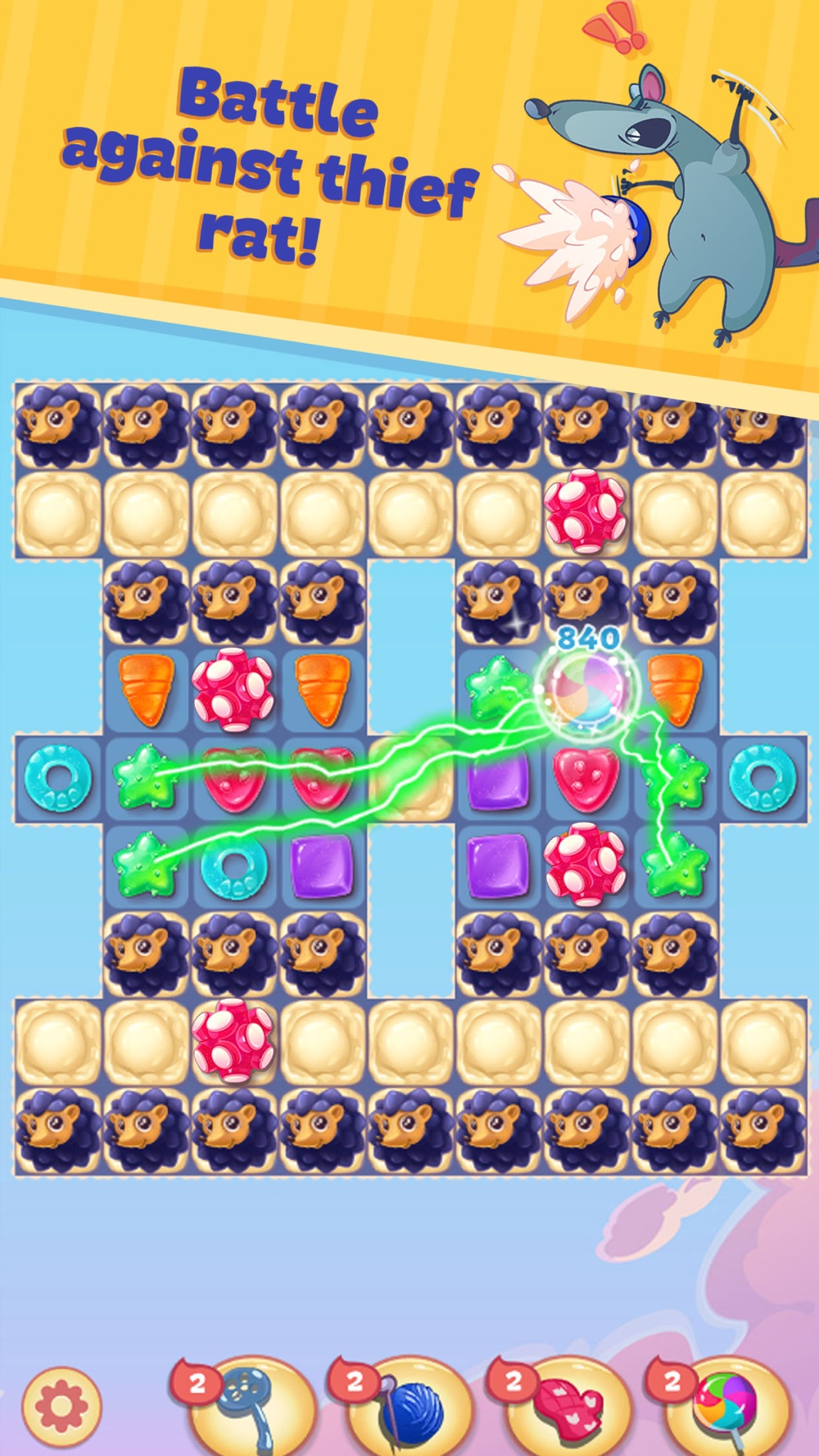 Sweety Kitty: Match-3 Game hack tool