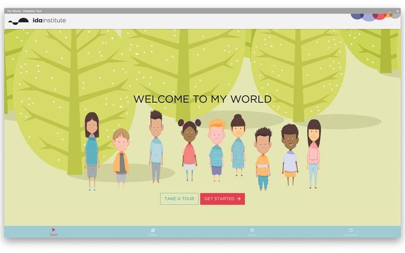 My World - Pediatric Tool скриншот программы 1